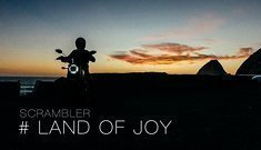 Ducati Scrambler 2015 - The Land Of Joy by Dmitry Khazhinov / Shot on iPhone 6 and DJI Phantom 3
